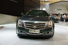 Nuevo cupé de Cadillac CTS-V Imágenes de archivo libres de regalías