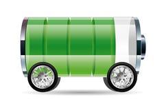 Nuevo diseño de concepto de la energía, energía alternativa libre illustration