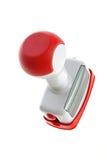 Nuevo diseño de sello de goma Fotografía de archivo