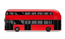 Nuevo doble Decker Bus Isolated de Londres libre illustration