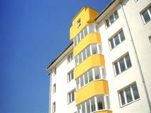 Nuevo edificio Fotos de archivo