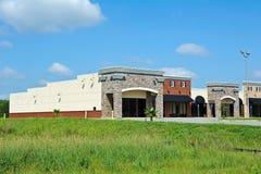 Nuevo edificio comercial Fotografía de archivo libre de regalías