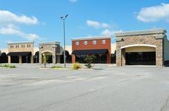 Nuevo edificio comercial Foto de archivo libre de regalías