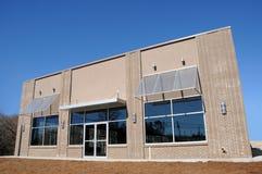 Nuevo edificio comercial Fotografía de archivo