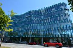 Nuevo edificio de oficinas en Christchurch - Nueva Zelanda foto de archivo