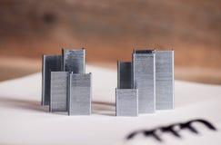 Nuevo edificio del concepto fotografía de archivo libre de regalías