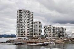 Nuevo edificio en Lervig Stavanger Fotos de archivo libres de regalías