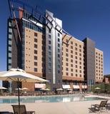 Nuevo edificio grande del hotel del casino en Phoenix fotografía de archivo