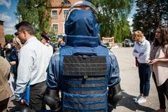 Nuevo equipo para los bomberos ucranianos Fotos de archivo