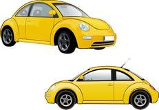 Nuevo escarabajo de Volkswagen Fotos de archivo libres de regalías