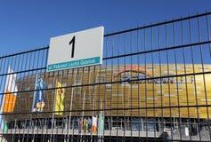 Nuevo estadio del euro 2012 en Gdansk, Polonia Fotografía de archivo libre de regalías