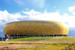 Nuevo estadio en Gdansk Foto de archivo