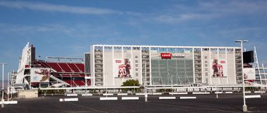 Nuevo estadio San Jose de 49er's Levi's Imagenes de archivo