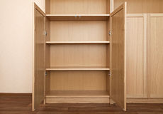 Nuevo estante para libros Fotografía de archivo libre de regalías