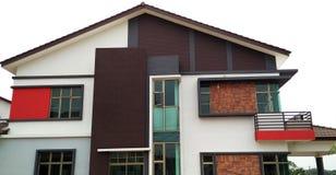 Nuevo exterior casero de la casa Fotografía de archivo libre de regalías