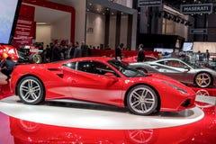 Nuevo Ferrari 488 imagenes de archivo
