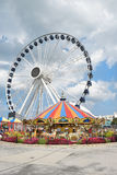 Nuevo Ferris Wheel Navy Pier Fotografía de archivo libre de regalías