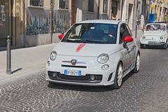 Nuevo Fiat 500 Abarth Fotos de archivo libres de regalías