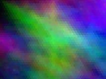 Nuevo fondo de lujo Multicolor, hexagonal pixeled stock de ilustración