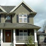 Nuevo hogar Foto de archivo libre de regalías