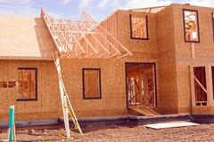 Nuevo hogar Foto de archivo