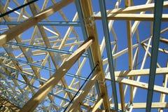 Nuevo hogar bajo construcción Foto de archivo libre de regalías
