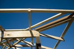 Nuevo hogar bajo construcción Fotografía de archivo libre de regalías
