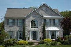 Nuevo hogar contemporáneo Foto de archivo
