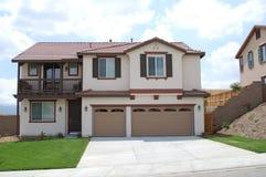 Nuevo hogar en California Imágenes de archivo libres de regalías