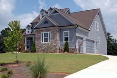 Nuevo hogar para la venta Foto de archivo libre de regalías