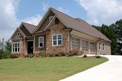 Nuevo hogar para la venta Imagen de archivo libre de regalías