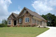 Nuevo hogar para la venta Fotos de archivo