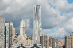 Nuevo horizonte de Manhattan. Imagen de archivo libre de regalías