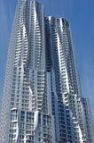 Nuevo horizonte en Manhattan más inferior Foto de archivo libre de regalías