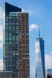Nuevo horizonte Freedom Tower los E.E.U.U. del Lower Manhattan Fotos de archivo libres de regalías