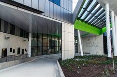 Nuevo hospital de la colina de la caja Foto de archivo libre de regalías