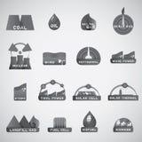Nuevo icono de la energía Imágenes de archivo libres de regalías