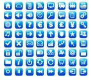 Nuevo icono del botón del Web y del Internet de los media