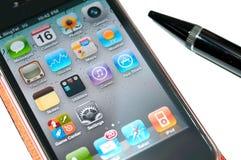 Nuevo iPhone 4 Fotografía de archivo libre de regalías