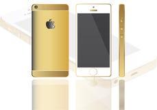 nuevo iphone seis de la manzana libre illustration