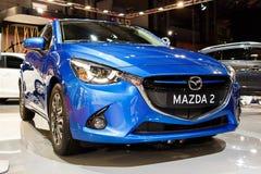 Nuevo Mazda 2 Imagen de archivo libre de regalías