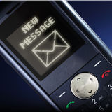 Nuevo mensaje Imagen de archivo