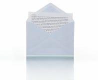 Nuevo mensaje Imagen de archivo libre de regalías