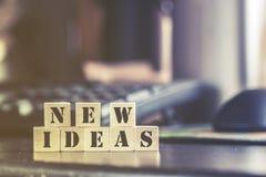 Nuevo mensaje de las ideas Foto de archivo libre de regalías