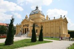 Nuevo miembro/Croacia/Zagreb de la UE Imágenes de archivo libres de regalías