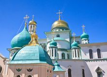Nuevo monasterio de Jerusalén, Istra Foto de archivo
