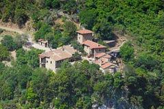Nuevo monasterio en Arcadia, Grecia de Philosophos Imagen de archivo libre de regalías