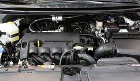 Nuevo motor de coche Fotografía de archivo libre de regalías