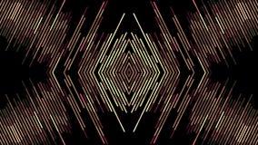 Nuevo movimiento del universal del día de fiesta de la calidad del color del diamante del pixel del bloque de la animación diagon ilustración del vector