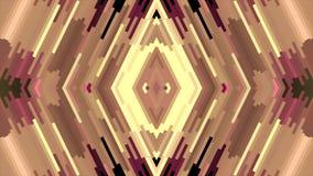 Nuevo movimiento del universal del día de fiesta de la calidad del color del diamante del pixel del bloque de la animación diagon stock de ilustración
